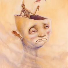 cabeça de vento
