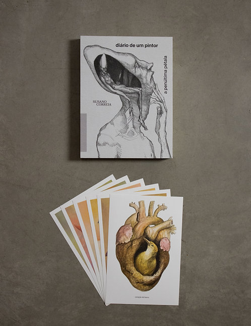 Livro - Diário de um Pintor + 6 prints - 3ª coleção