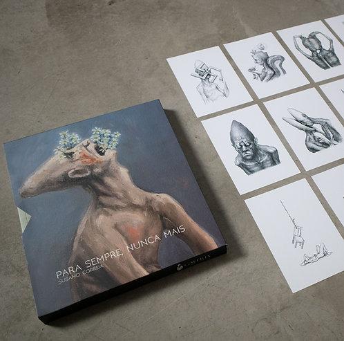 box completo - dedicado com desenho original na folha de rosto + 12 prints