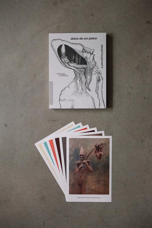 Livro - Diário de um Pintor + 6 prints - 6º coleção