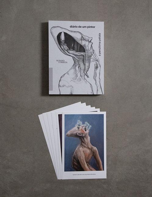 Livro - Diário de um Pintor + 6 prints - 1º coleção
