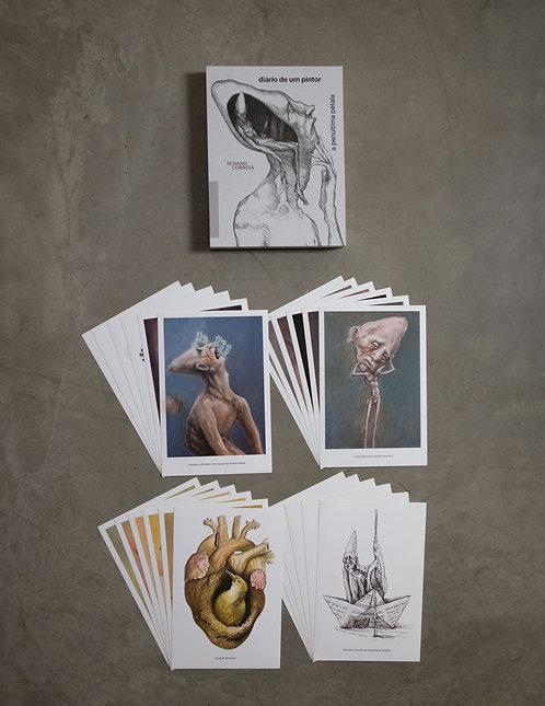 Livro - Diário de um Pintor + kit - 24 prints colecionáveis