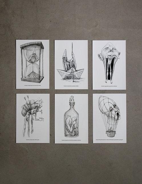 6 prints - 4ª coleção