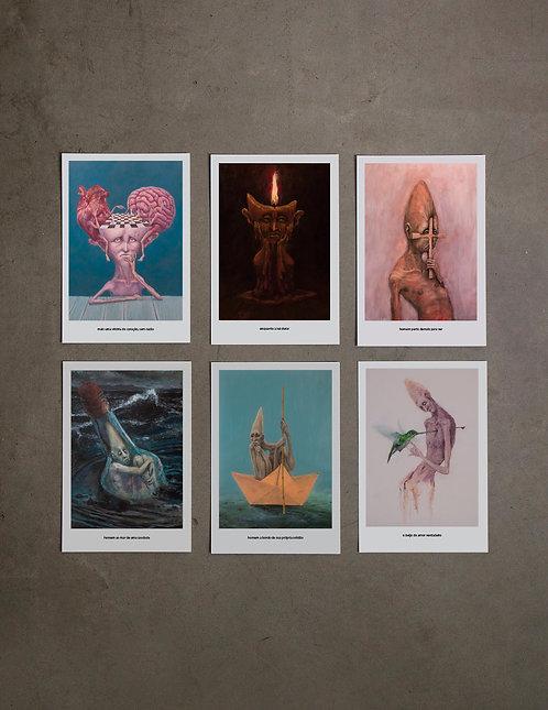 6 prints - 7ª coleção