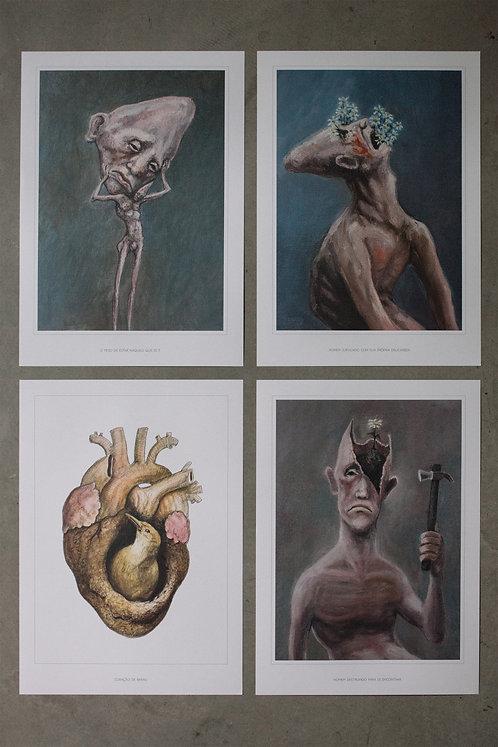 4 posters - kit 1
