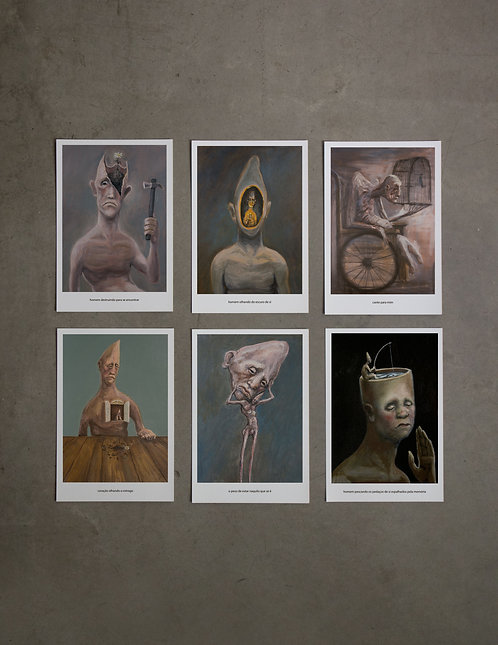 6 prints - 2º coleção