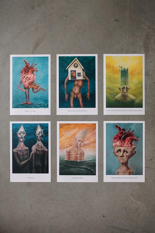 6 prints - 5º coleção