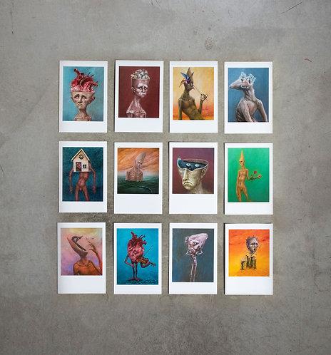 12 cards - kit 1