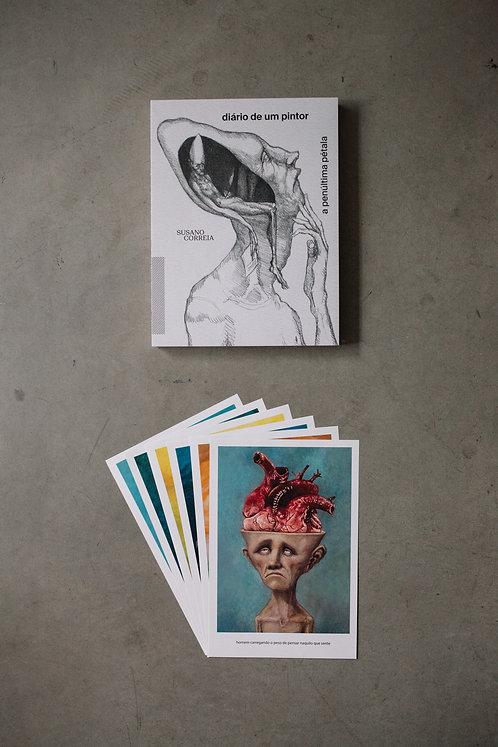 Livro - Diário de um Pintor + 6 prints - 5º coleção