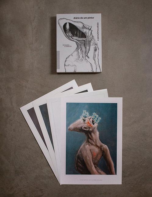 Livro - Diário de um Pintor + 4 Posters kit 1