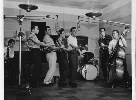"The Viscounts 1957 Recording ""Raindrop"" and ""My Girl"""