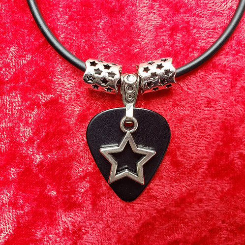 Rock Star - Guitar Pick Necklace