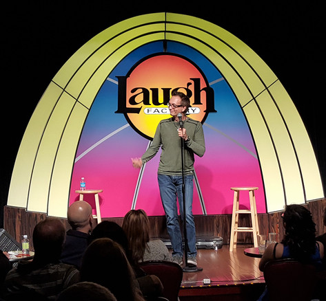Stand Up Comedian-Pete George-Laugh Factory-Reno-Headliner