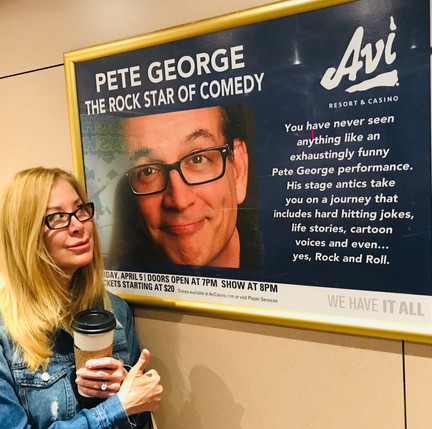 Stand Up Comedian-Pete George-Avi Casino-Laughlin-Headliner