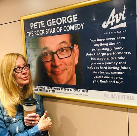 Stand Up Comedian-Pete George-Avi Casino-Laughlin-Headliner