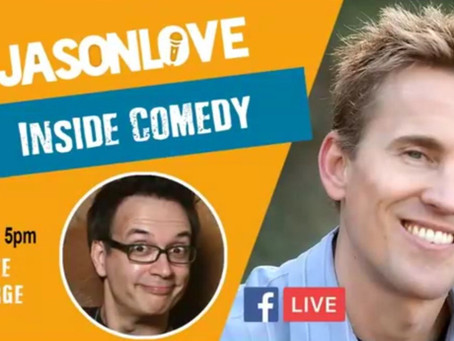 "Pete George on ""Inside Comedy"" with Jason Love"