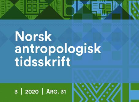 Norsk Antropologisk Tidsskrift har kommet med årets 3. nummer