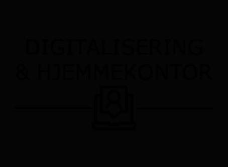 Digitalisering og hjemmekontor