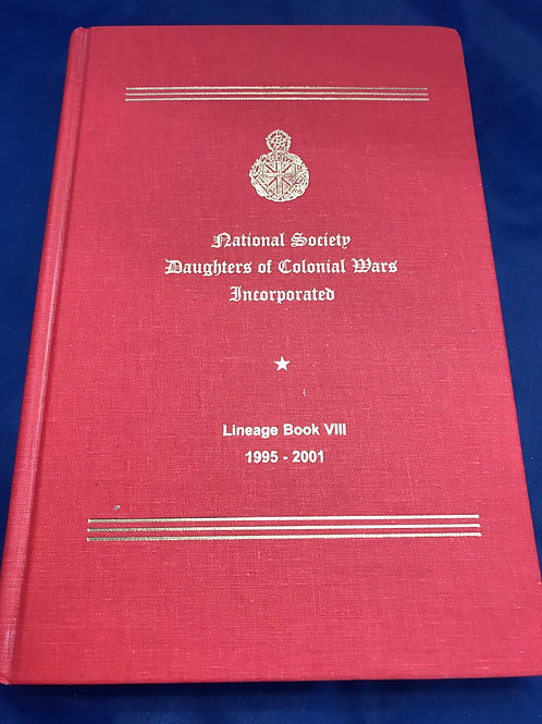 NSDCW Lineage Book VIII  LC 96-76711