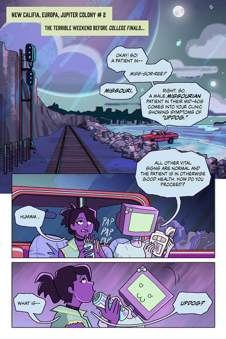 Rescue Mission On Jupiter Page 1