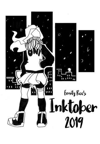 Inktober 2019 Cover