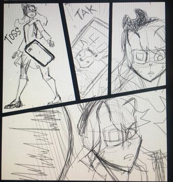 Comic Work in Progress