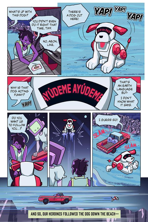 Rescue Mission On Jupiter Page 3