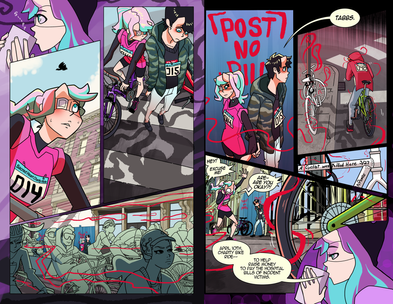 Anarchy Dreamers Issue 9, Pages 9 and 10