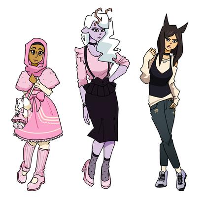 Fatima, Luna, Miho