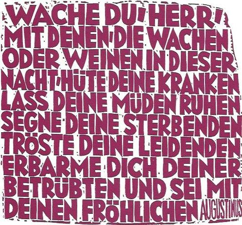 Wache Du Herr (Augustinus), 1979