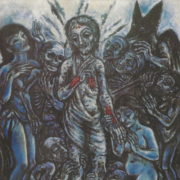 Adventus Domini 1982 Acryl auf Leinwand