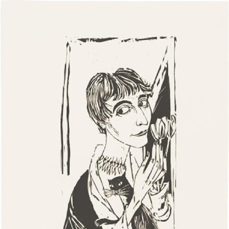 Bildnis Eva Bergler 1955