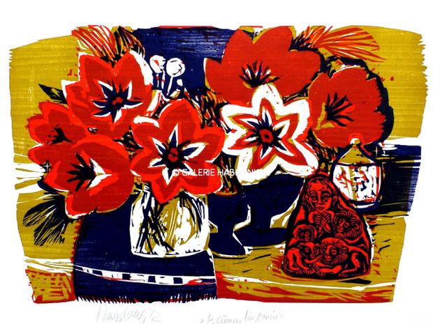 Blumen für Daniel 1972 53 x 76 cm