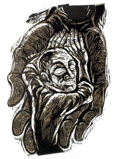 In manibus tuis, II 1972/88 76 x 53 cm