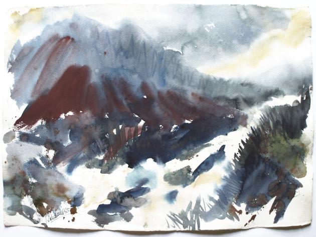 Jachenau, Oberbayern 1985 57 x 78 cm