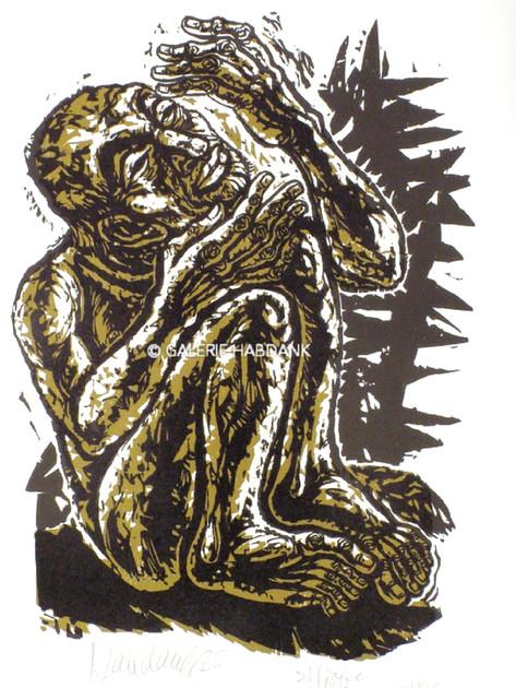Hiob 1988 76 x 53 cm