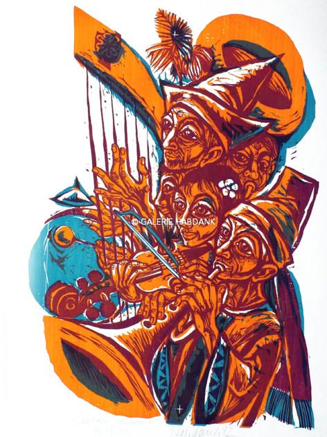 Laudate Dominum 1972 76 x 53 cm