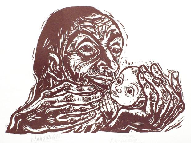 Simeon 1973 53 x 76 cm