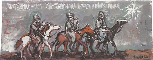 Die Weisen aus dem Morgenland, Entwurf 1961
