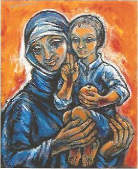 Maria mit dem Christuskind, 1982