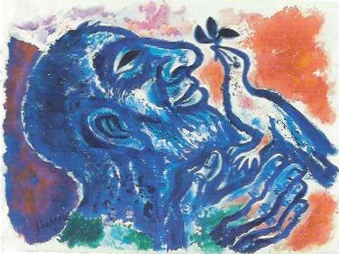 Noah mit der Taube, 1996