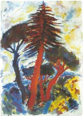 Südliche Landschaft, 1990