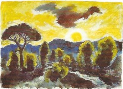 Österliche Landschaft, 1989