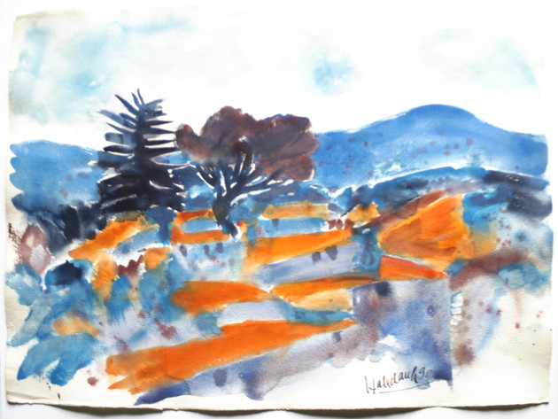 Provence 1990 57 x 78 cm