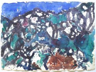 Camanoglio, Tessin 1971 57 x 78 cm