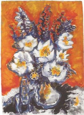 Madonna unter den Blumen, 1988