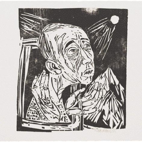 Portrait Helmut Bieber 1955