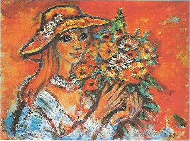 Blumenmädchen, 1979