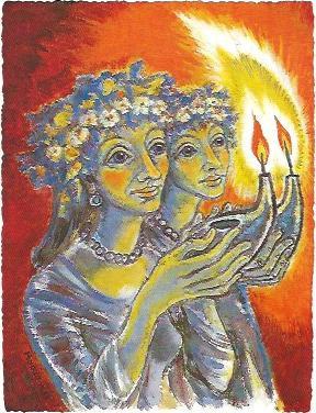 Kluge Jungfrauen zu Matth. 25, 1989