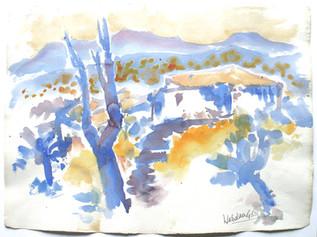 Provence 1988 57 x 78 cm